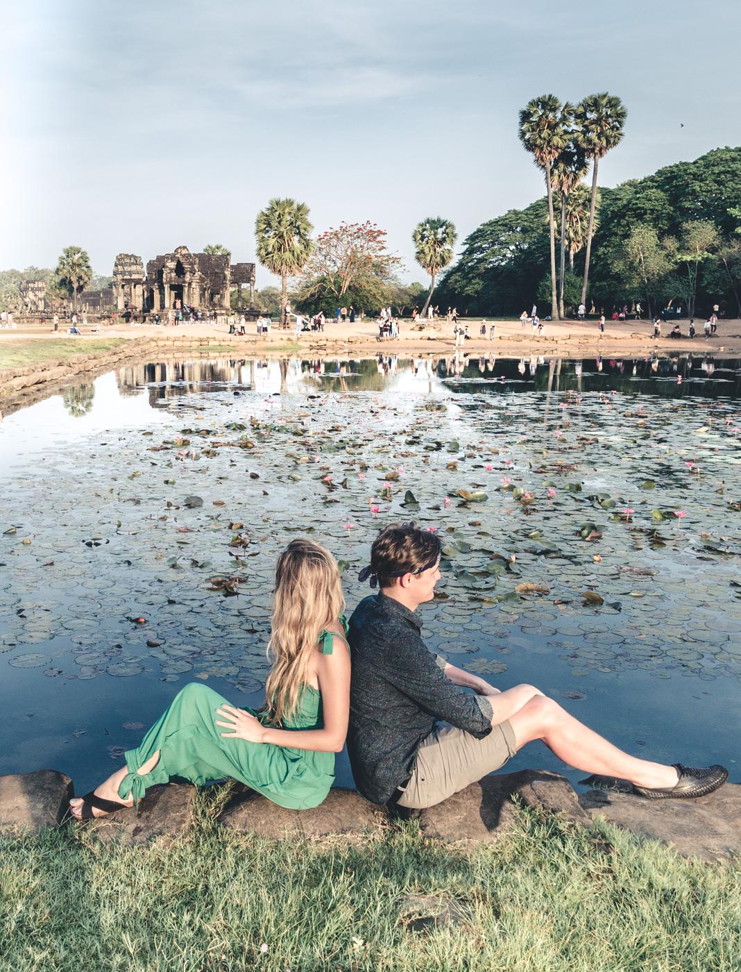 Angkor Wat Sunrise travel blog