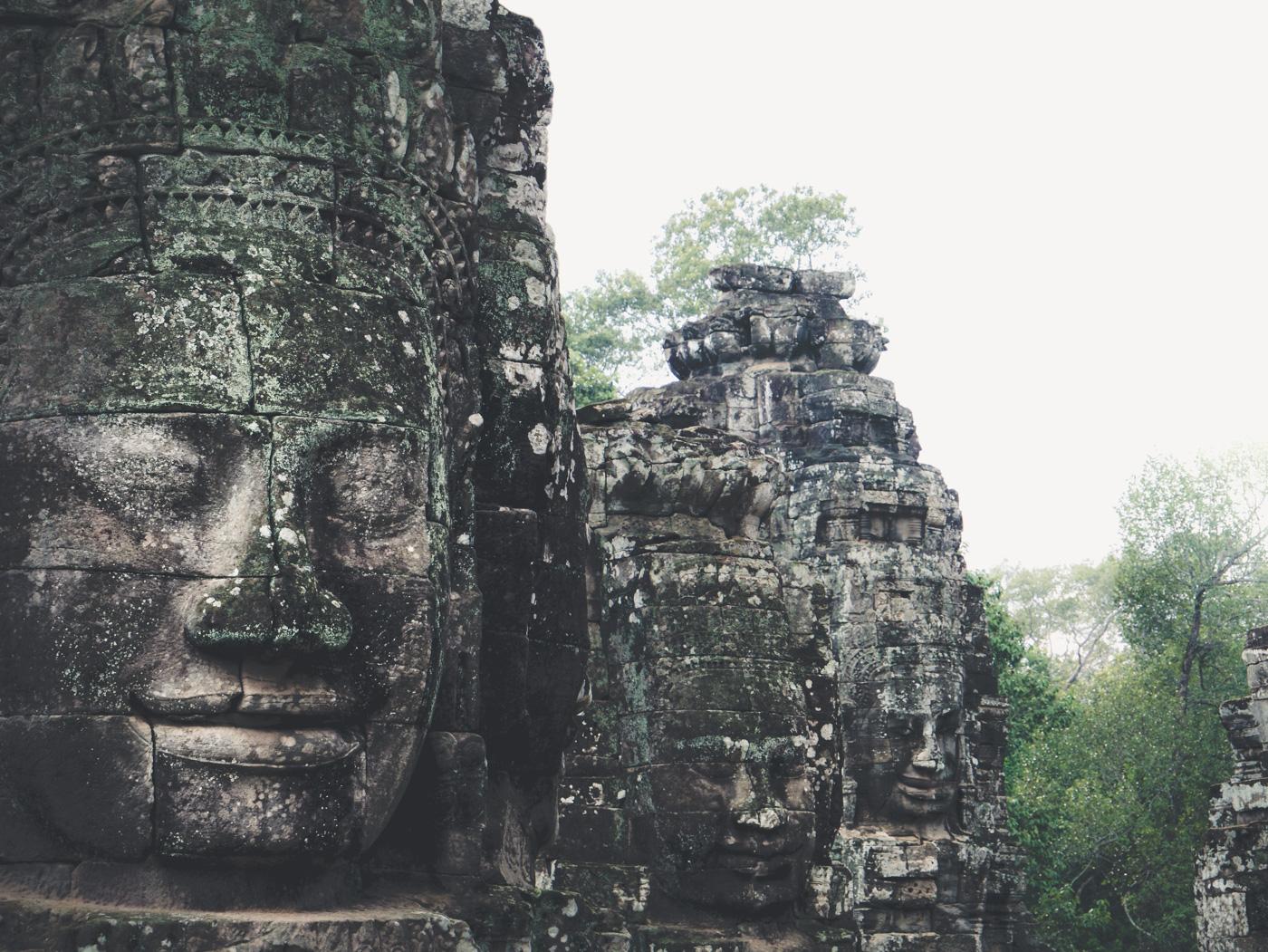 Bayon Cambodia travel photography
