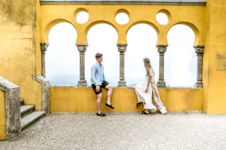 Sintra Pena de Palacio partimetravelers beautiful colorful castle