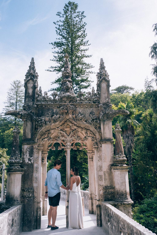 Sintra Quinta da Regeleira Portugal partimetravelers