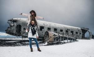 Plane wreck Iceland