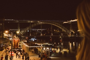 Church porto night Travel blog partimetravelers